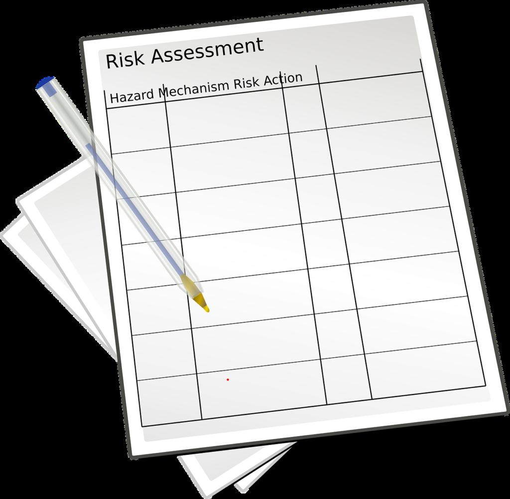ocena ryzyka wybuchu